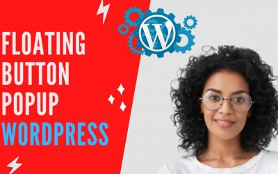 How to add floating button popup wordpress